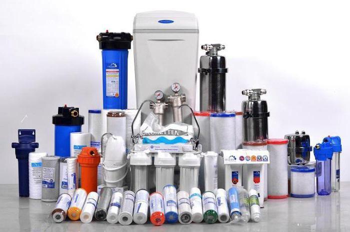 фильтры для очистки воды в частном доме как выбрать