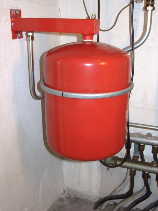 Схема автономного отопления дома