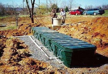 Как правильно закопать емкость под канализацию