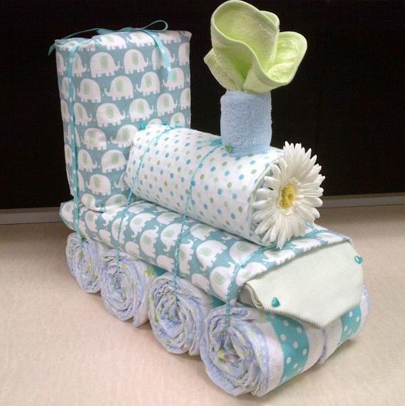 подарки из памперсов как сделать