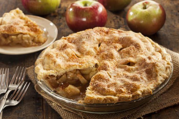 Яблочный пирог по американски
