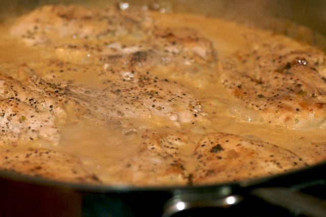 рецепт подливы из куриного филе