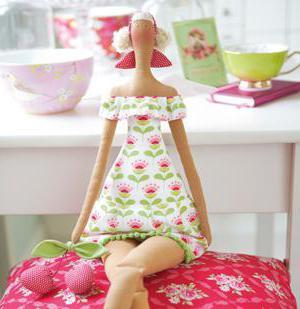 что такое кукла тильда