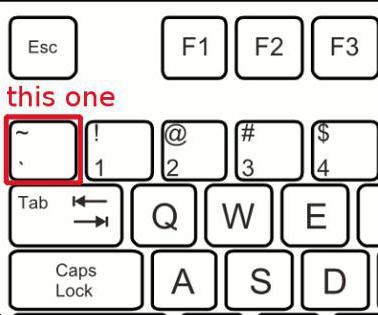 что такое тильда на клавиатуре