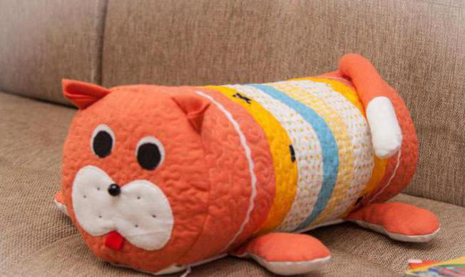 Как сшить подушку игрушку