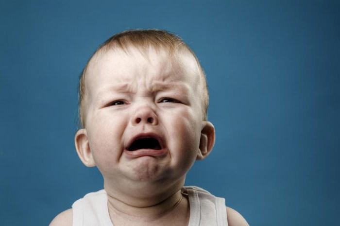 Почему кричит ребенок