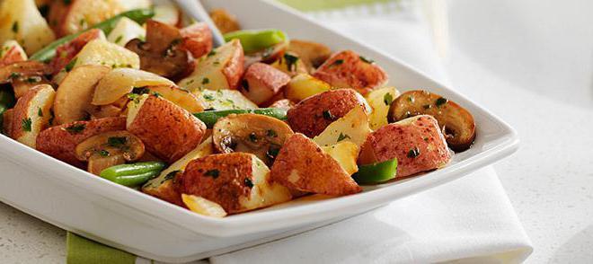 Рецепты картошки в духовке с овощами с фото