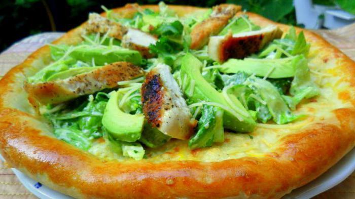 пицца цезарь домашняя рецепт