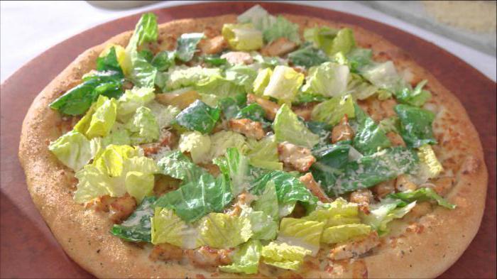 соус цезарь для пиццы рецепт