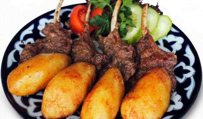 казан кебаб из свинины с картошкой