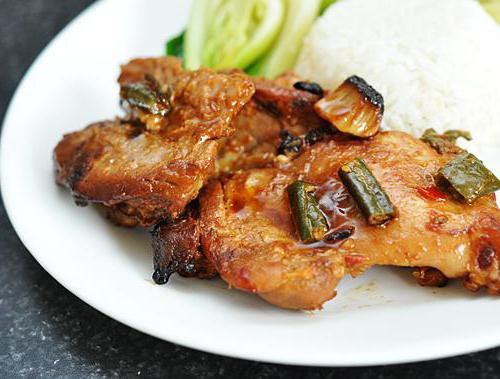 рецепт куриных бедрышек без кости в духовке с фото