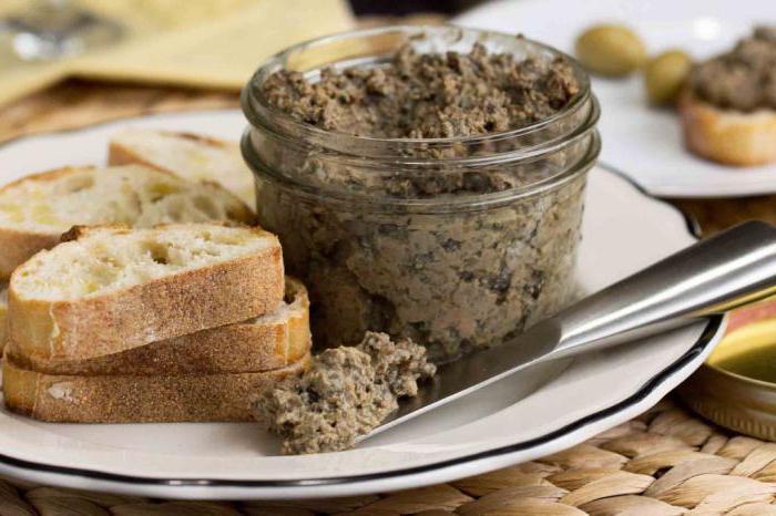 грибной паштет на зиму рецепт простой