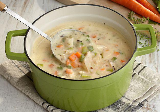 Как приготовить суп самый легкий