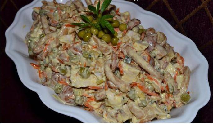 салат из белых грибов на зиму рецепты