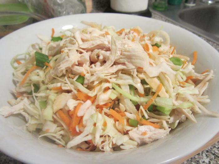 салат из мяса простой и вкусный рецепт