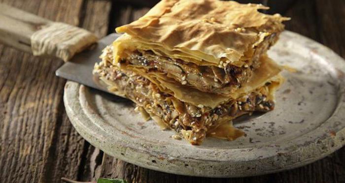 начинка для пирогов из соленых грибов