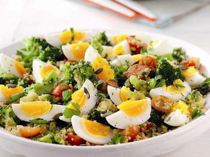 салаты с вареными яйцами рецепты