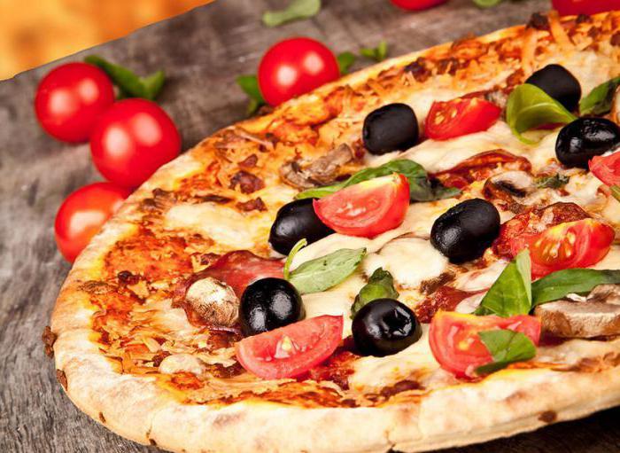 из чего можно приготовить пиццу