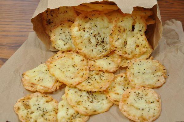 домашние чипсы в духовке без масла