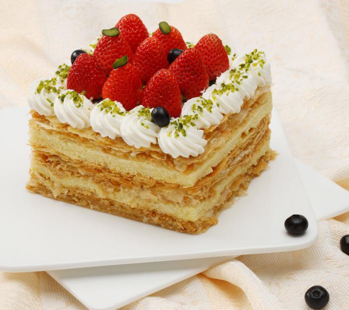 рецепт торта наполеон из маргарина