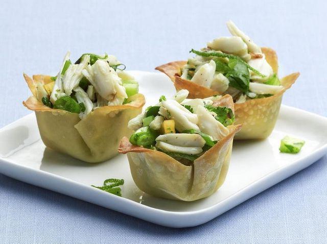 Крабовый салат классический. рецепт без риса