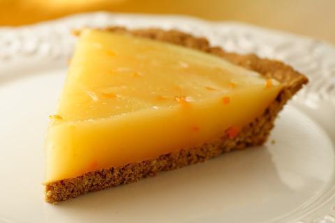 лимонный песочный пирог. рецепт