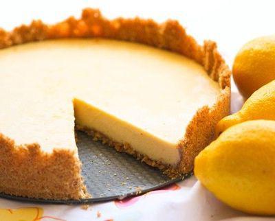 пирог с лимоном из песочного теста. рецепт