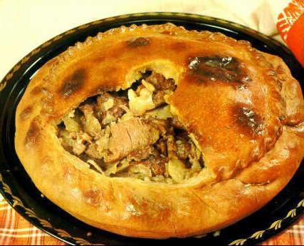 балиш с мясом и картошкой. пошаговый рецепт