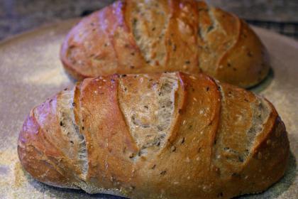 выпечка ржаного хлеба в духовке