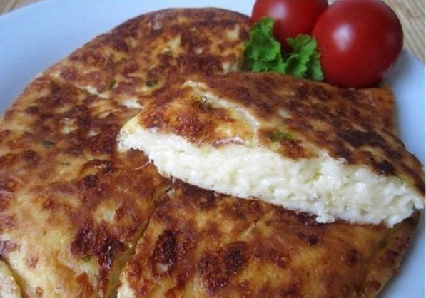 пирог из лаваша и адыгейского сыра