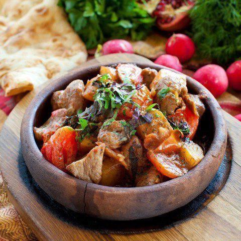 Рецепт оджахури из свинины