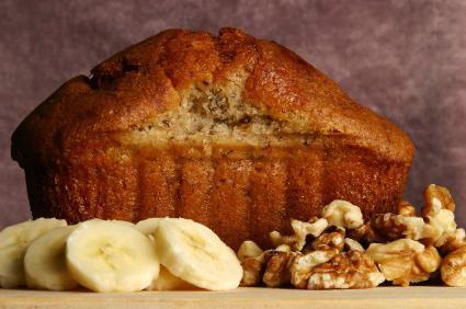 Диетический банановый хлеб: рецепт
