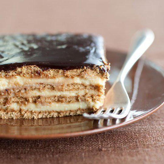 торт из сметаны и печенья без выпечки