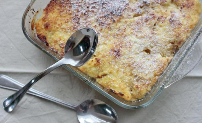 Блюда как сделать творожную запеканку в духовке с фото