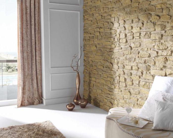 Панели под камень для внутренней отделки стен