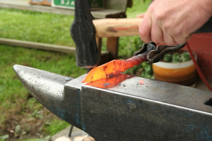 Охотничий нож своими руками