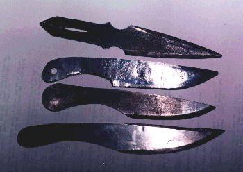 метательные ножи сделать своими руками