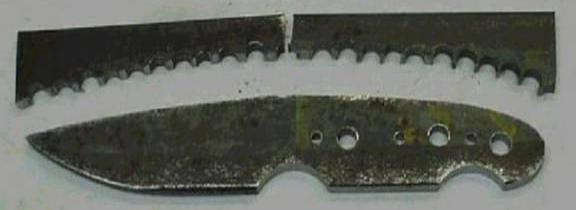 как сделать нож своими руками в домашних условиях