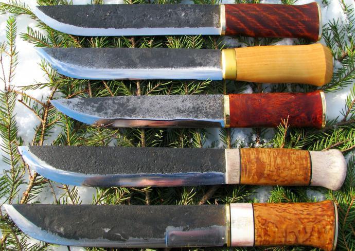 сделать финский нож своими руками
