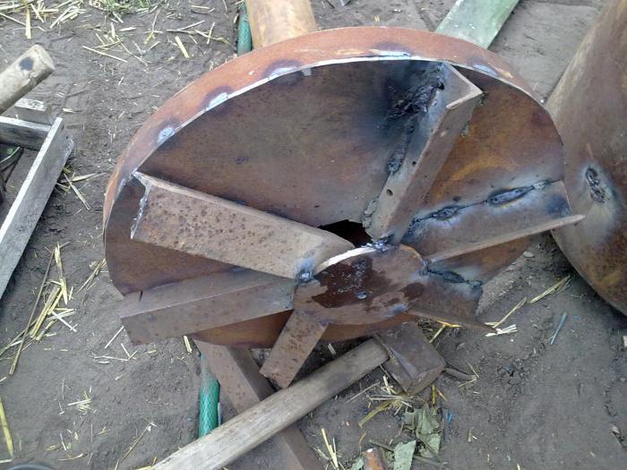 печь бубафоня с водяной рубашкой