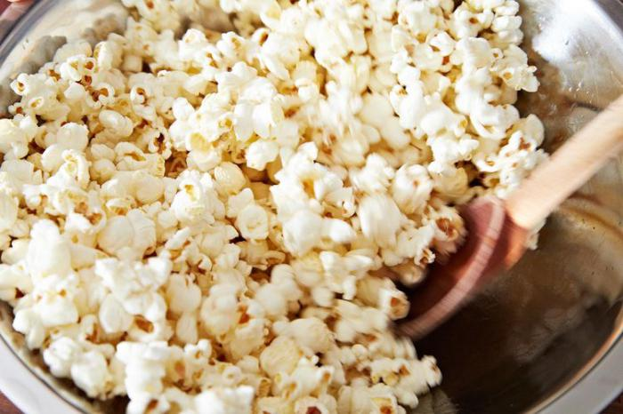 попкорн из домашней кукурузы