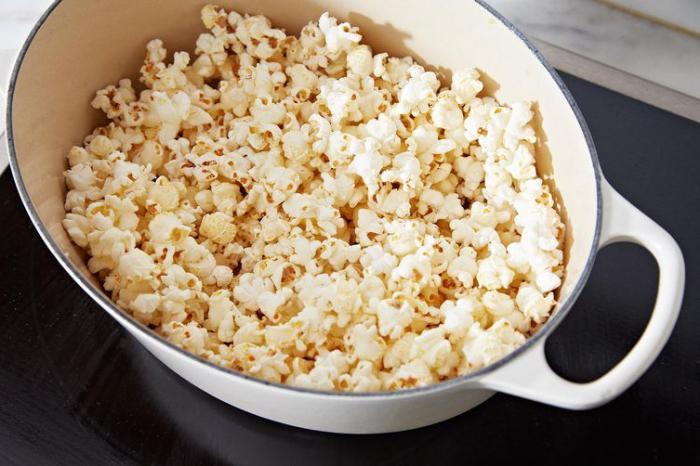 сделать попкорн из обычной кукурузы