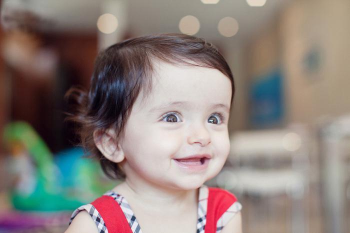 Параметры ребенка в 1 год