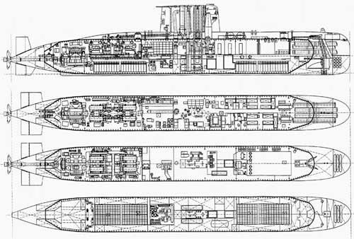 подводная субмарина