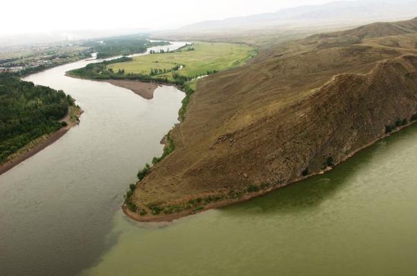 падение и уклон реки енисей