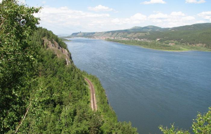 где находится река енисей
