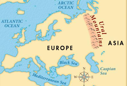 граница между азией и европой