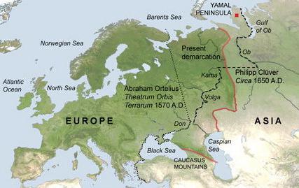 река между европой и азией