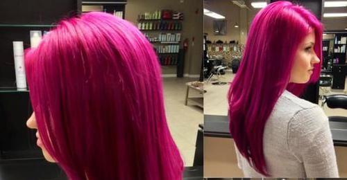 краска для волос необычных цветов
