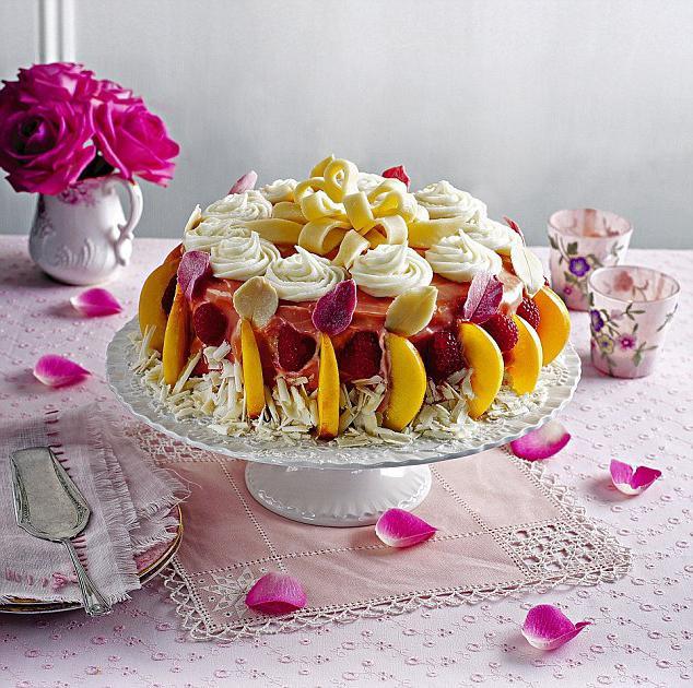 как сделать торт из зефира
